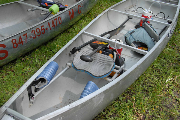 Rivermiles Forum - sliding seats in a canoe