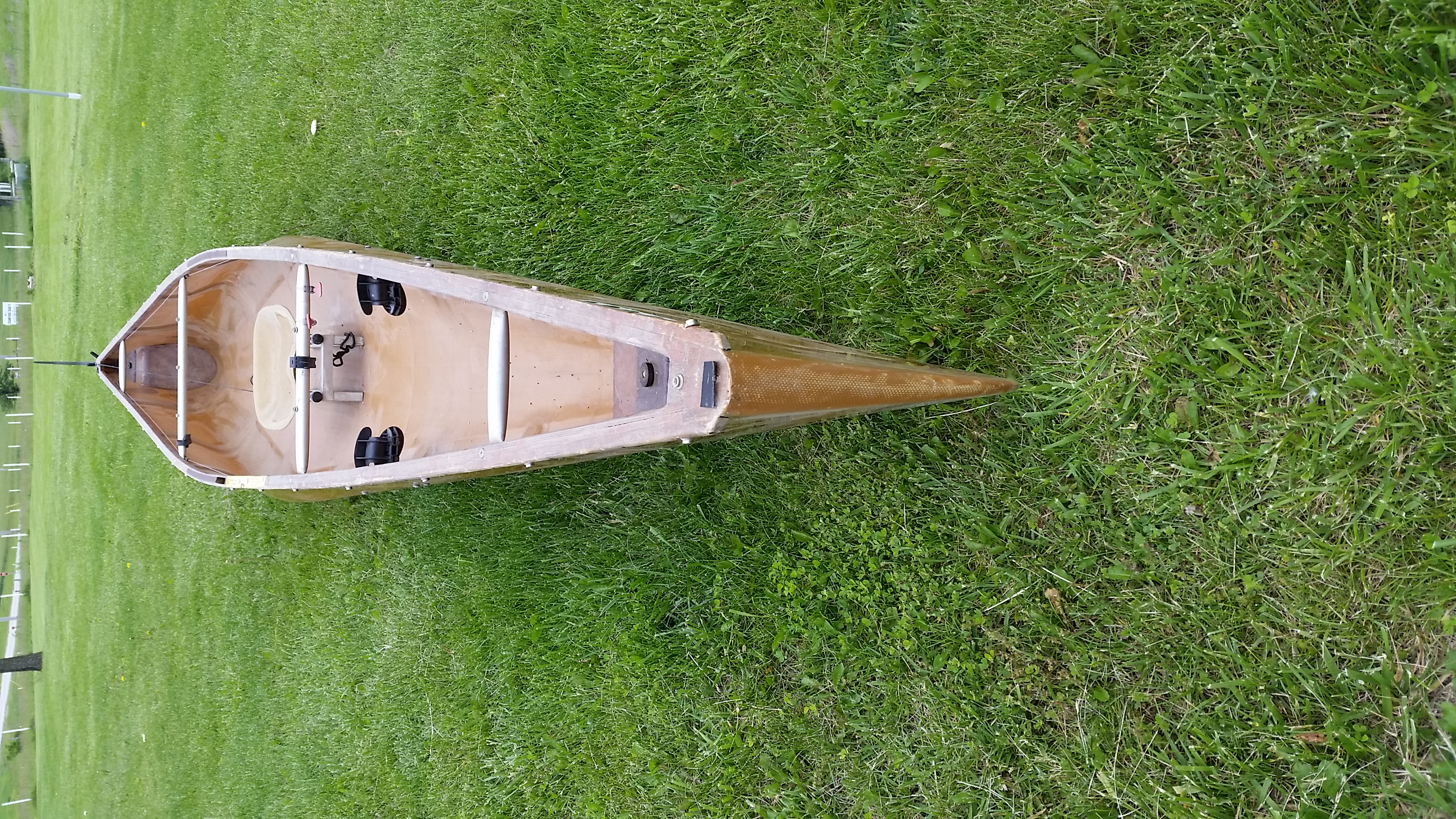 Rivermiles Forum - SOLD- Wenonah C1W solo racing canoe $700