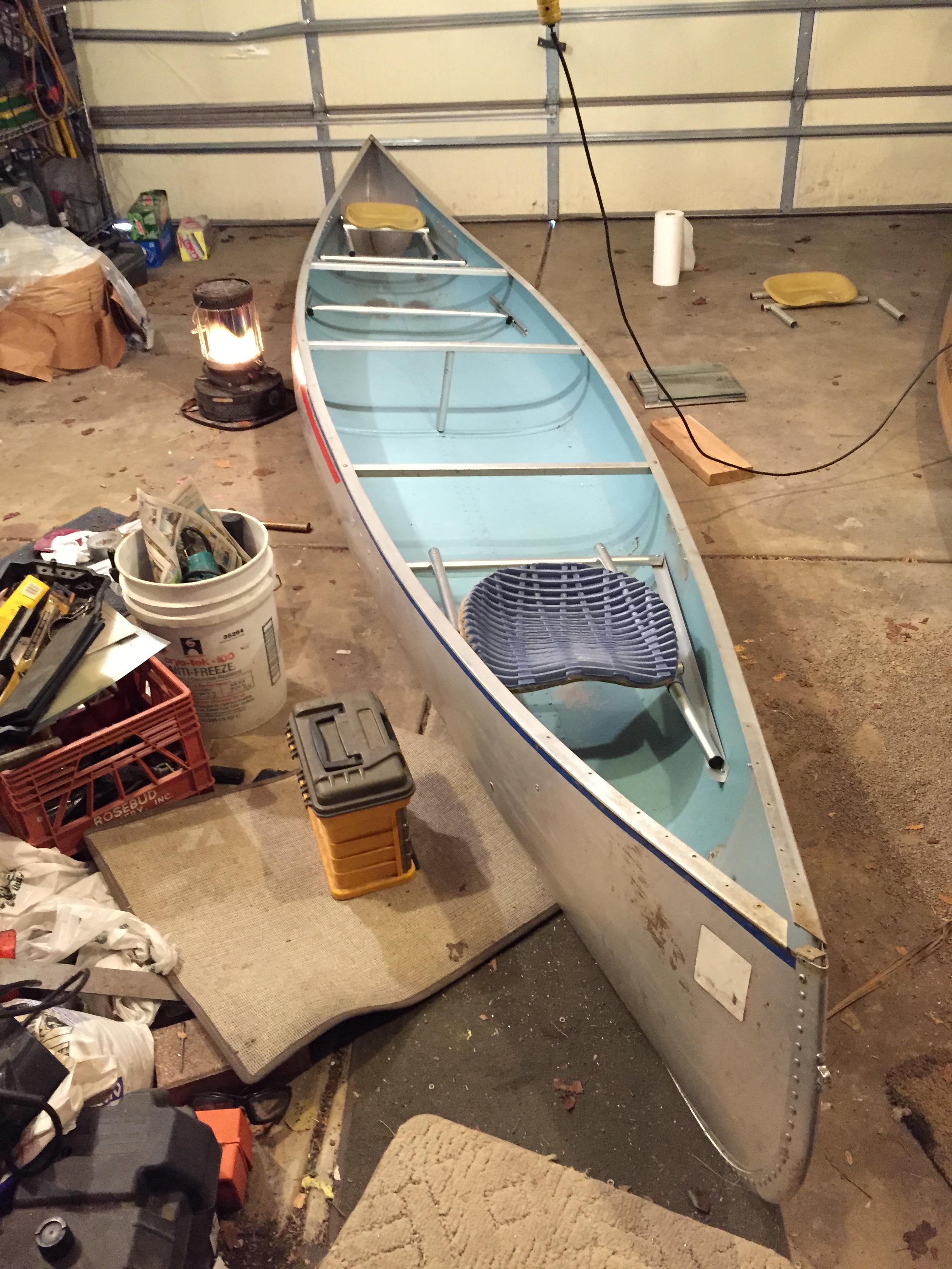 Rivermiles Forum - Alumacraft Voyageur Rigging