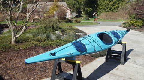Rivermiles Forum - For Rent for 340 Necky Tesla Sea Kayak